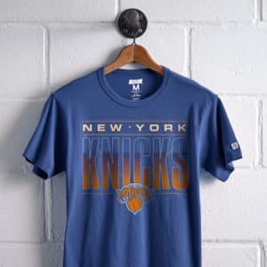 Tailgate Men's New York Knicks Graphic Tee Royal Blue M