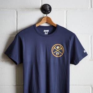 Tailgate Men's Denver Nuggets T-Shirt Blue M