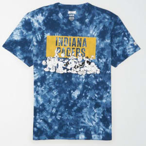 Tailgate Men's Indiana Pacers x Looney Tunes Tie-Dye T-Shirt Blue M