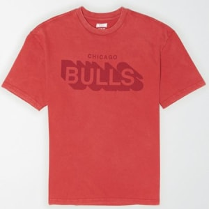 Tailgate Men's Chicago Bulls Graphic T-Shirt Washed Red XXL