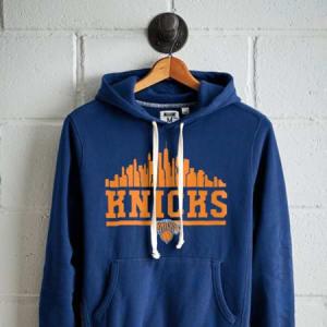 Tailgate Men's New York Knicks Fleece Hoodie Royal Blue XXL