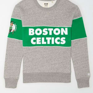 Tailgate Men's Boston Celtics Fleece Sweatshirt Gray Heather M
