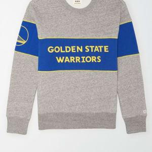 Tailgate Men's Golden State Warriors Fleece Sweatshirt Gray Heather L