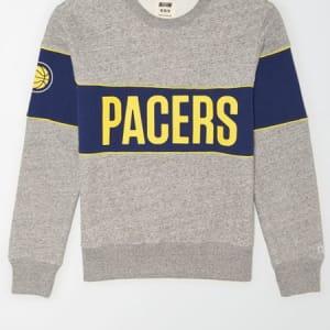 Tailgate Men's Indiana Pacers Fleece Sweatshirt Gray Heather L
