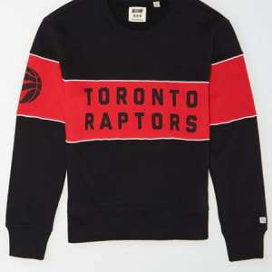 Tailgate Men's Toronto Raptors Fleece Sweatshirt Bold Black M