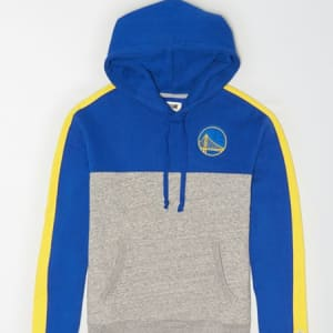 Tailgate Men's Golden State Warriors Pullover Hoodie Blue XS