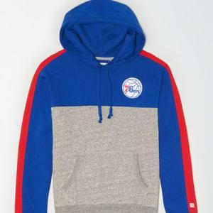 Tailgate Men's Philadelphia 76ers Pullover Hoodie Blue L