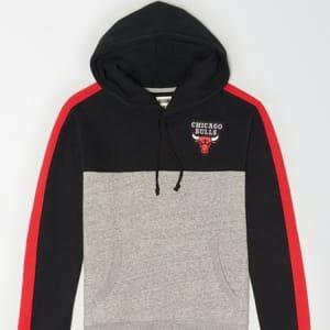 Tailgate Men's Chicago Bulls Pullover Hoodie Bold Black S