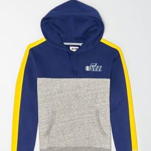 Tailgate Men's Utah Jazz Pullover Hoodie Blue XS