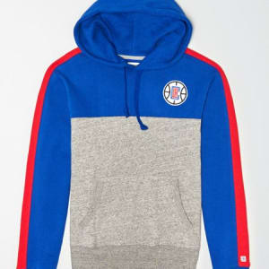 Tailgate Men's LA Clippers Pullover Hoodie Blue