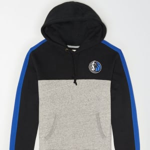 Tailgate Men's Dallas Mavericks Pullover Hoodie Bold Black XS