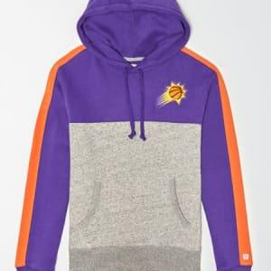 Tailgate Men's Phoenix Suns Pullover Hoodie Purple XS