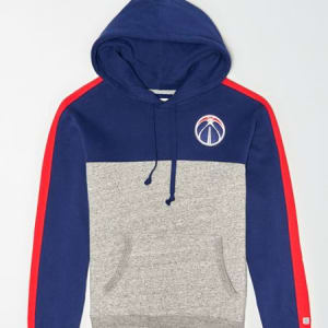 Tailgate Men's Washington Wizards Pullover Hoodie Blue M