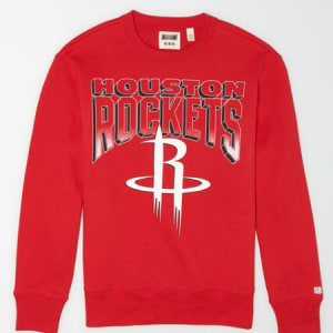 Tailgate Men's Houston Rockets Crew Neck Sweatshirt Red Beam L
