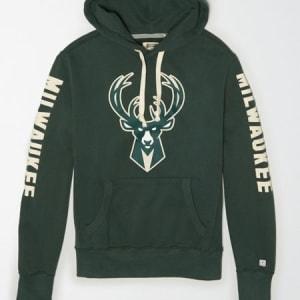 Tailgate Men's Milwaukee Bucks Fleece Hoodie Green S