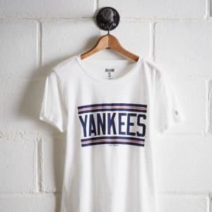 Tailgate Women's New York Yankees T-Shirt White XS