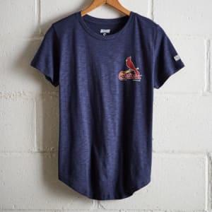 Tailgate Women's St. Louis Retro T-Shirt Blue M
