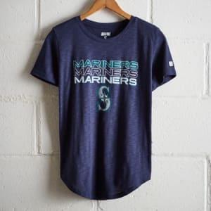 Tailgate Women's Seattle Mariners T-Shirt Blue XS