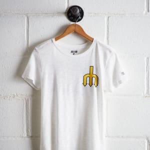 Tailgate Women's Seattle Mariners T-Shirt White S