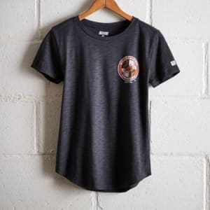 Tailgate Women's Baltimore Orioles T-Shirt Storm Dark S