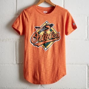 Tailgate Women's Baltimore Orioles T-Shirt Orange L