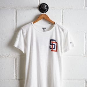Tailgate Women's San Diego Padres T-Shirt White L