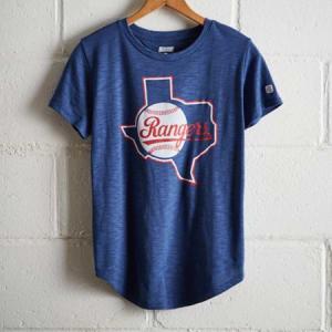 Tailgate Women's Texas Rangers T-Shirt Royal Blue M