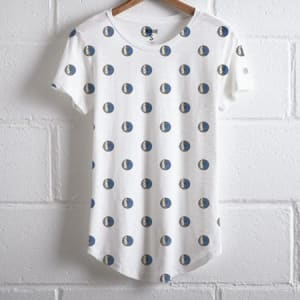 Tailgate Women's Mavericks All-Over Print T-Shirt White L