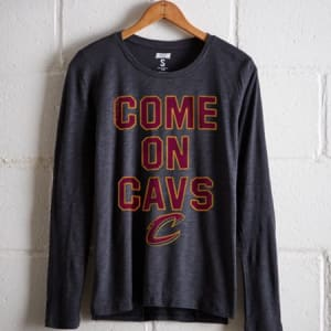 Tailgate Women's Cavaliers Long Sleeve T-Shirt Storm Dark M