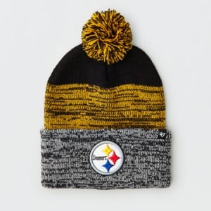 '47 Pittsburgh Steelers Pom Beanie Yellow One Size