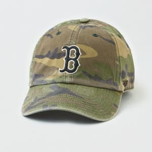 '47 Boston Red Sox Camo Baseball Hat Camo Green One Size