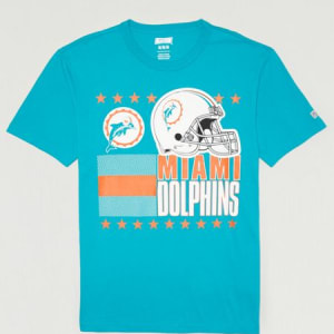 Tailgate Men's Miami Dolphins T-Shirt Turquoise S
