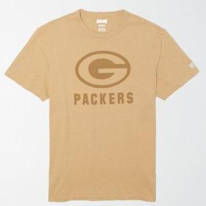 Tailgate Men's Green Bay Packers Tonal T-Shirt Field Khaki XXL