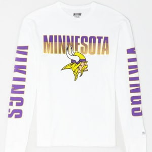Tailgate Men's Minnesota Vikings Long Sleeve T-Shirt White M