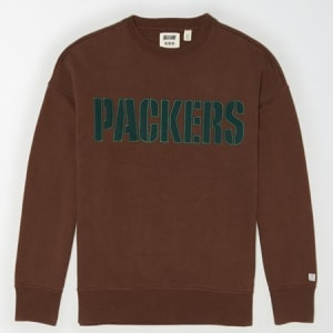 Tailgate Men's Green Bay Packers Sweatshirt Chestnut XL
