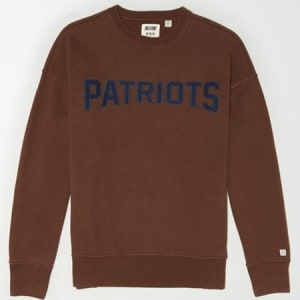 Tailgate Men's New England Patriots Sweatshirt Chestnut XS