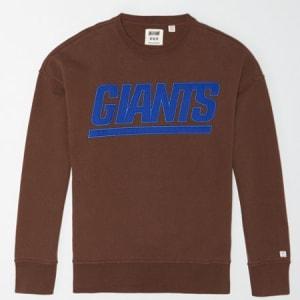 Tailgate Men's New York Giants Sweatshirt Chestnut M