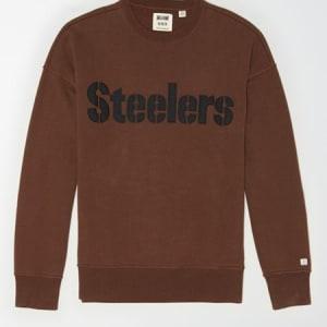Tailgate Men's Pittsburgh Steelers Sweatshirt Chestnut S