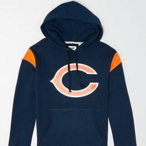 Tailgate Men's Chicago Bears Fleece Hoodie Basic Navy XS