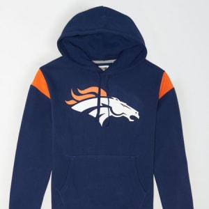 Tailgate Men's Denver Broncos Fleece Hoodie Blue S