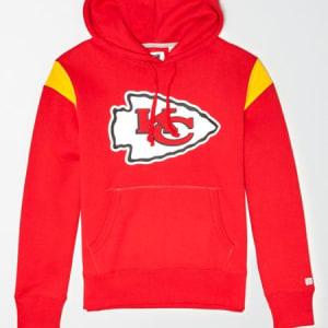 Tailgate Men's Kansas City Chiefs Fleece Hoodie Red Beam M