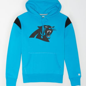 Tailgate Men's Carolina Panthers Fleece Hoodie Bright Blue M