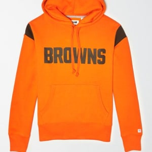 Tailgate Men's Cleveland Browns Fleece Hoodie Orange XL