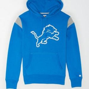 Tailgate Men's Detroit Lions Fleece Hoodie Cerulean Blue M