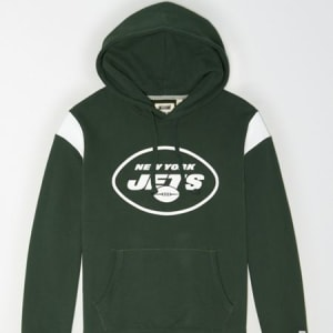 Tailgate Men's New York Jets Fleece Hoodie Team Green XL