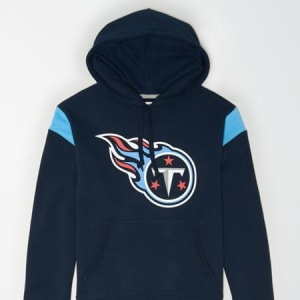 Tailgate Men's Tennessee Titans Fleece Hoodie Basic Navy XXL