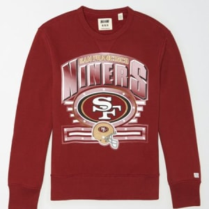 Tailgate Men's San Francisco 49ers Crewneck Sweatshirt Red M