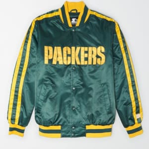Tailgate X Starter Men's Green Bay Packers Varsity Jacket Team Green XS