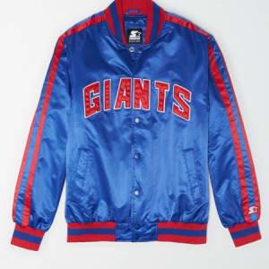 Tailgate X Starter Men's New York Giants Varsity Jacket Cobalt Blue M
