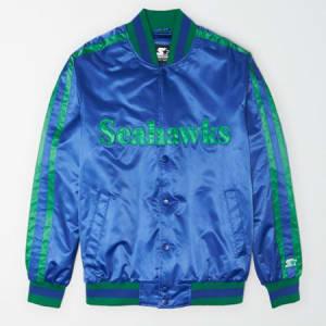 Tailgate X Starter Men's Seattle Seahawks Varsity Jacket Classic Blue S
